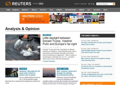 Analysis Opinion Reuters