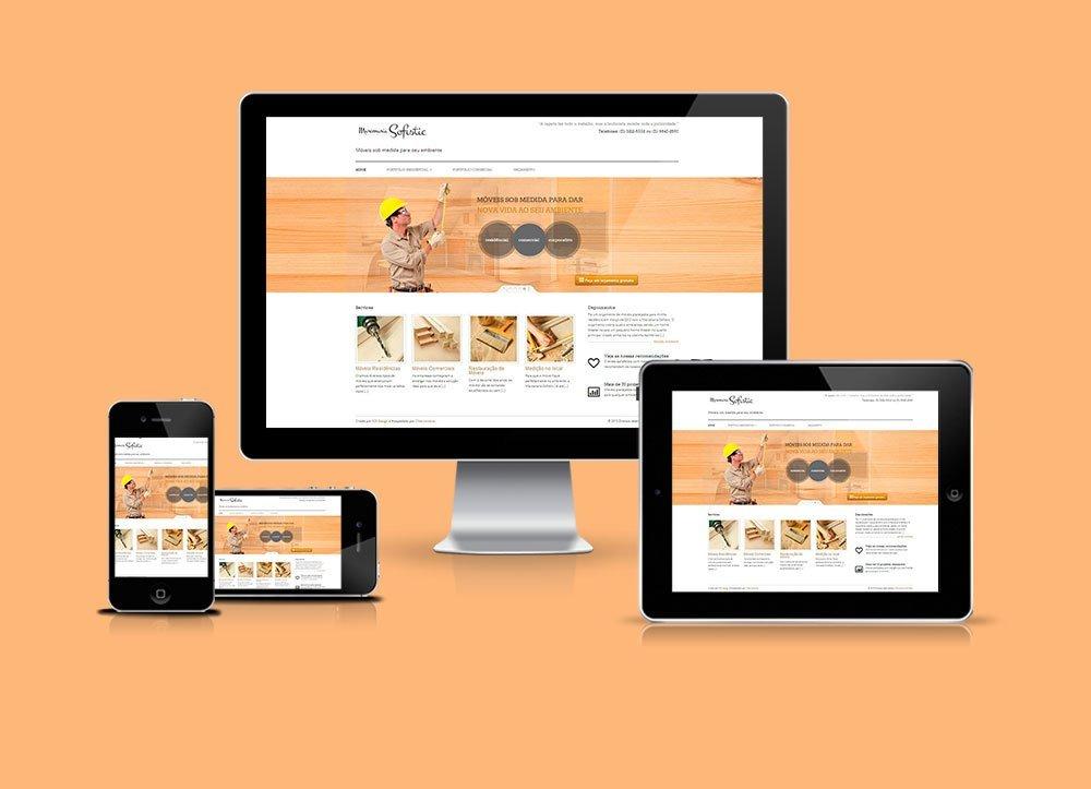 Website Multi Portfólios Marcenaria Sofistic