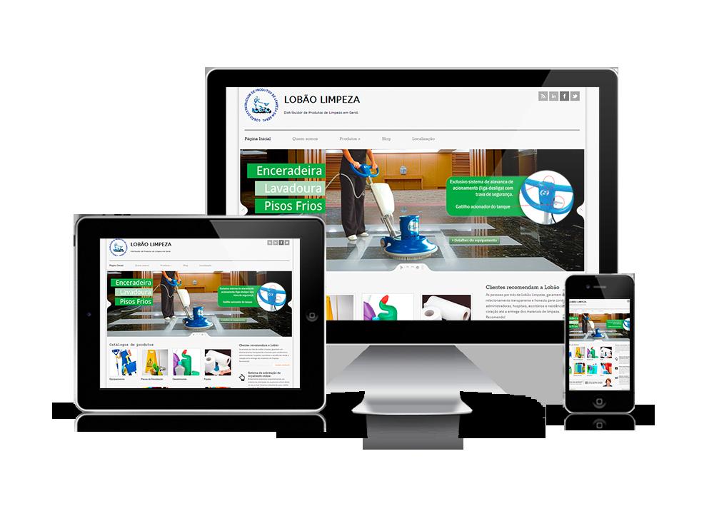 Projeto Website Lobão Produtos de Limpeza