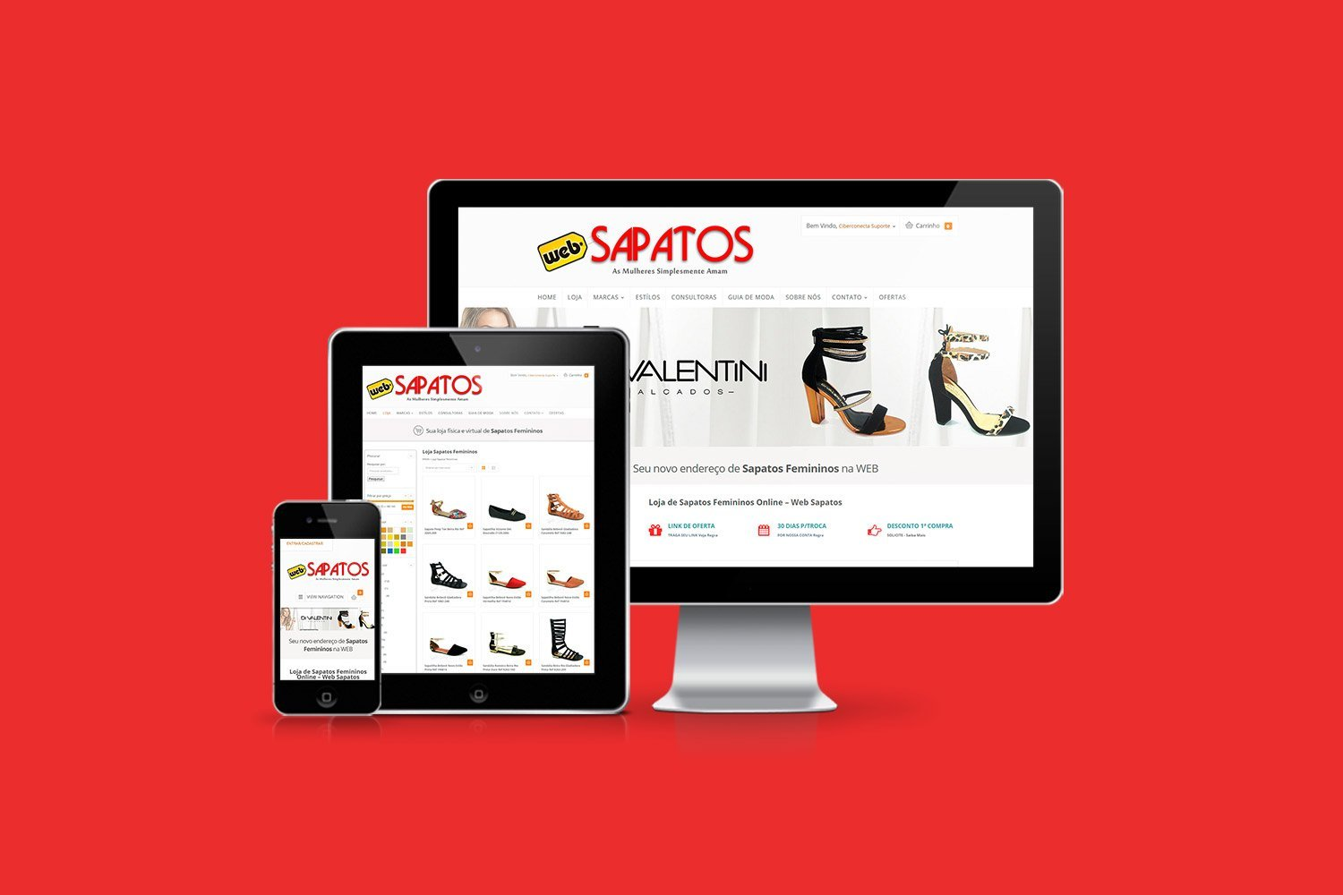 E-Commerce Web Sapatos