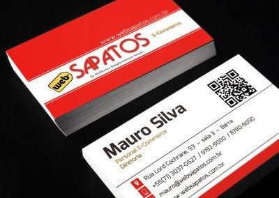 Cartão de Visitas E-Commerce Corporativo
